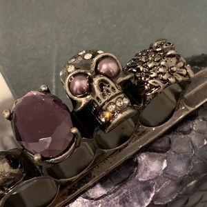 Alexander McQueen Box Knuckle Clutch